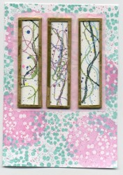 Threads Under Glass Card