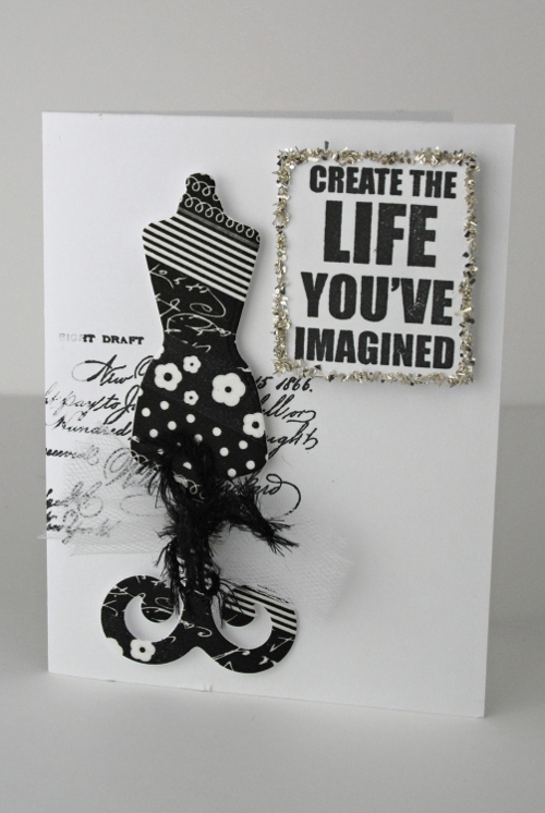 The Life You've Imagined Card