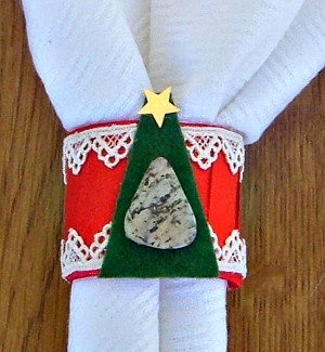 easy christmas napkin rings