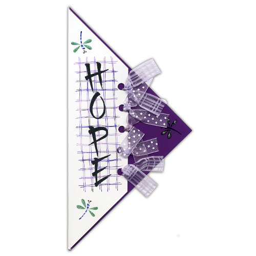 Hope Vertical Triangle Card