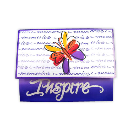 Butterfly Inspire Stamp Card