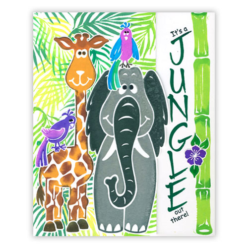 Playful Jungle Card 1