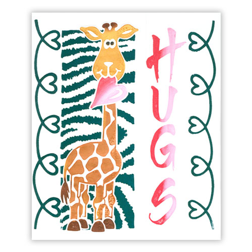 Playful Jungle Card 4
