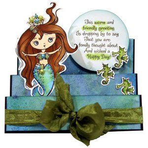 Mermaid Princess Pop Up Card