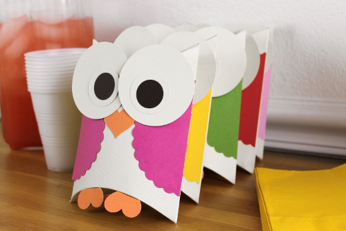 Owl Themed Party Decor