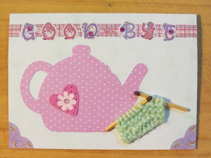 The Joy of Tea and Knitting