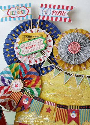 Circus Daze Party Theme