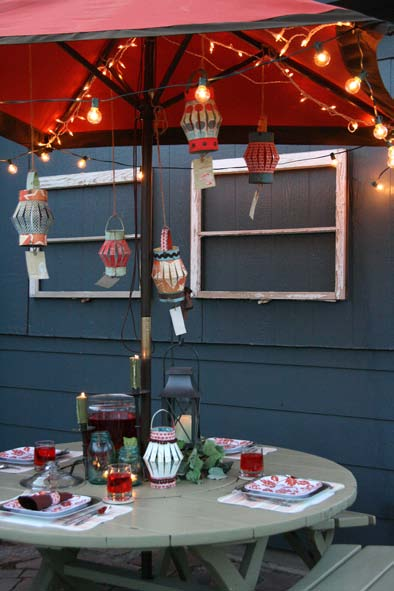 Summer Lanterns for Party Decor