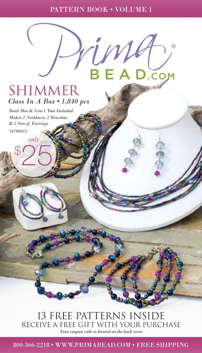 13 free jewelry patterns from prima bead allfreejewelrymaking download your free copy of 13 free jewelry patterns from prima bead today fandeluxe Choice Image