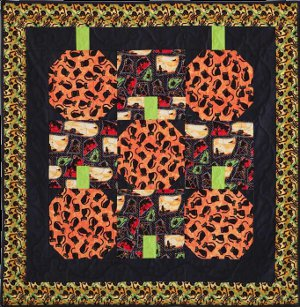 Ghoulish Ghosts, Petrified Pumpkins, and Wicked Witches: 11 Spooktacular Halloween Quilt Patterns