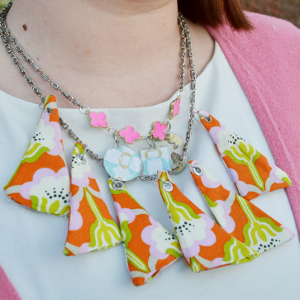 Quilter's Bib Necklace Pattern
