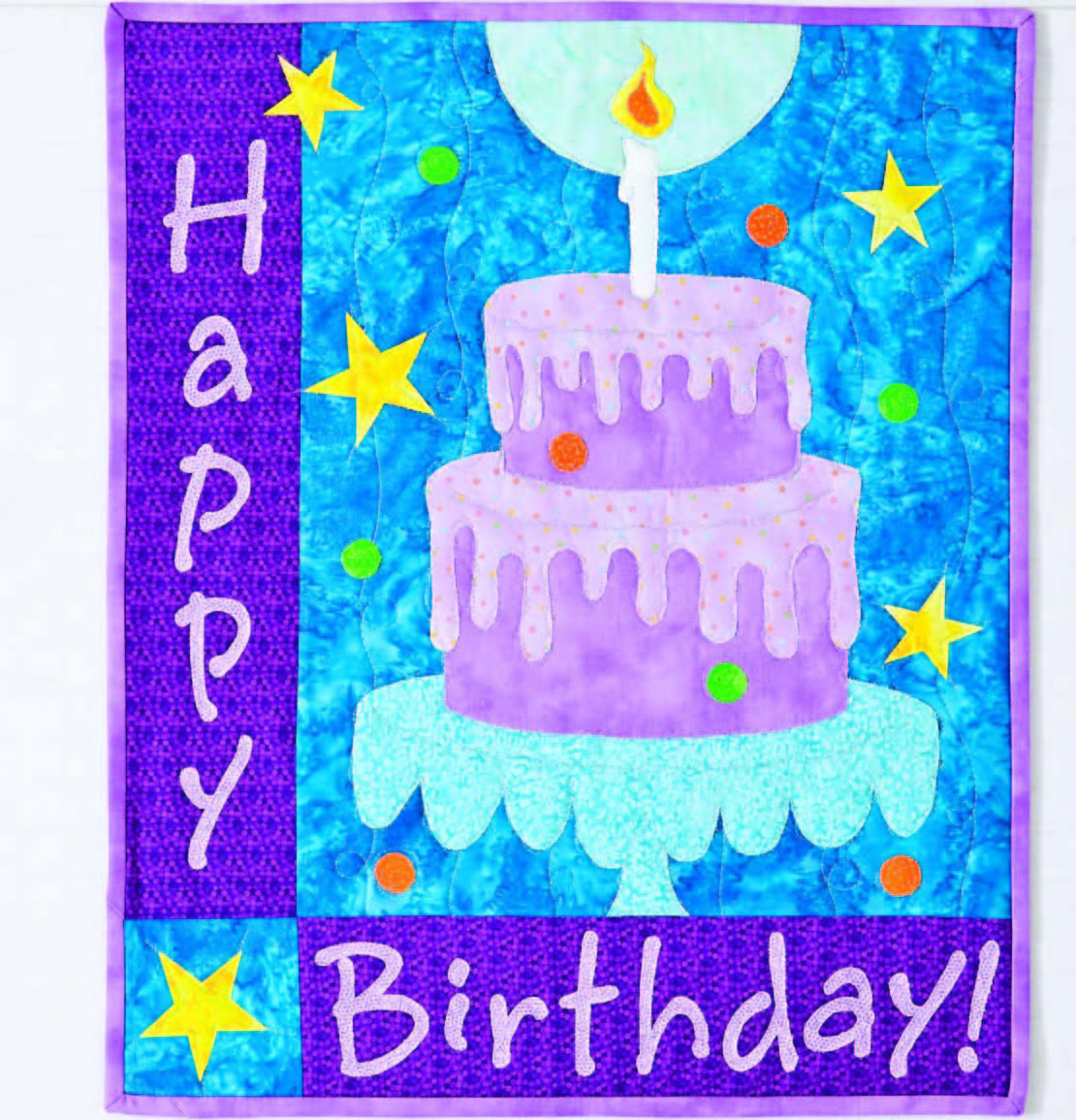 Happy Birthday Cake Quilt From Ct Publishing Favecrafts
