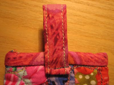 Sew Loop to Pouch