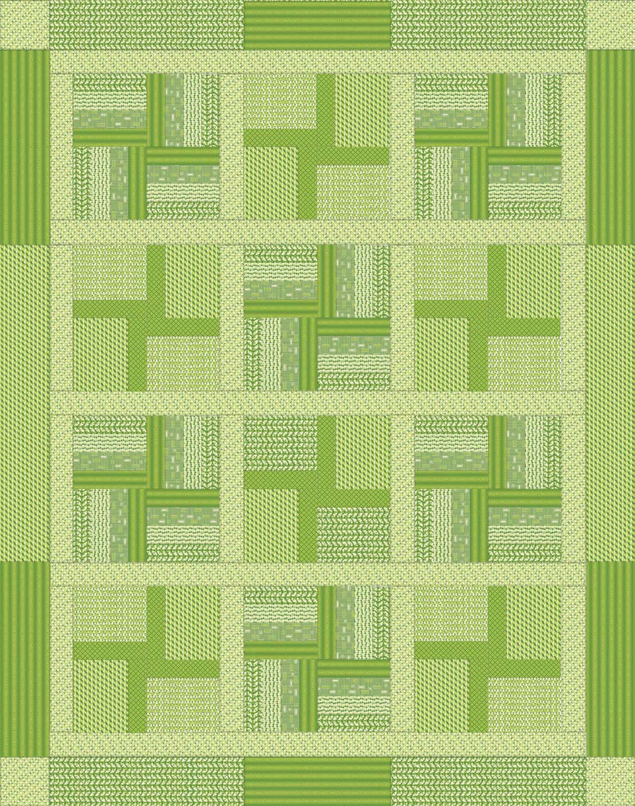 Running Eight Quilt