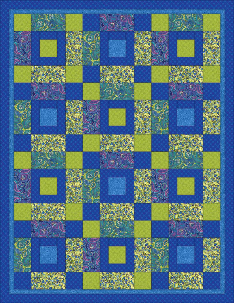 Venetian Quilt Pattern from Springs Creative | FaveCrafts.com