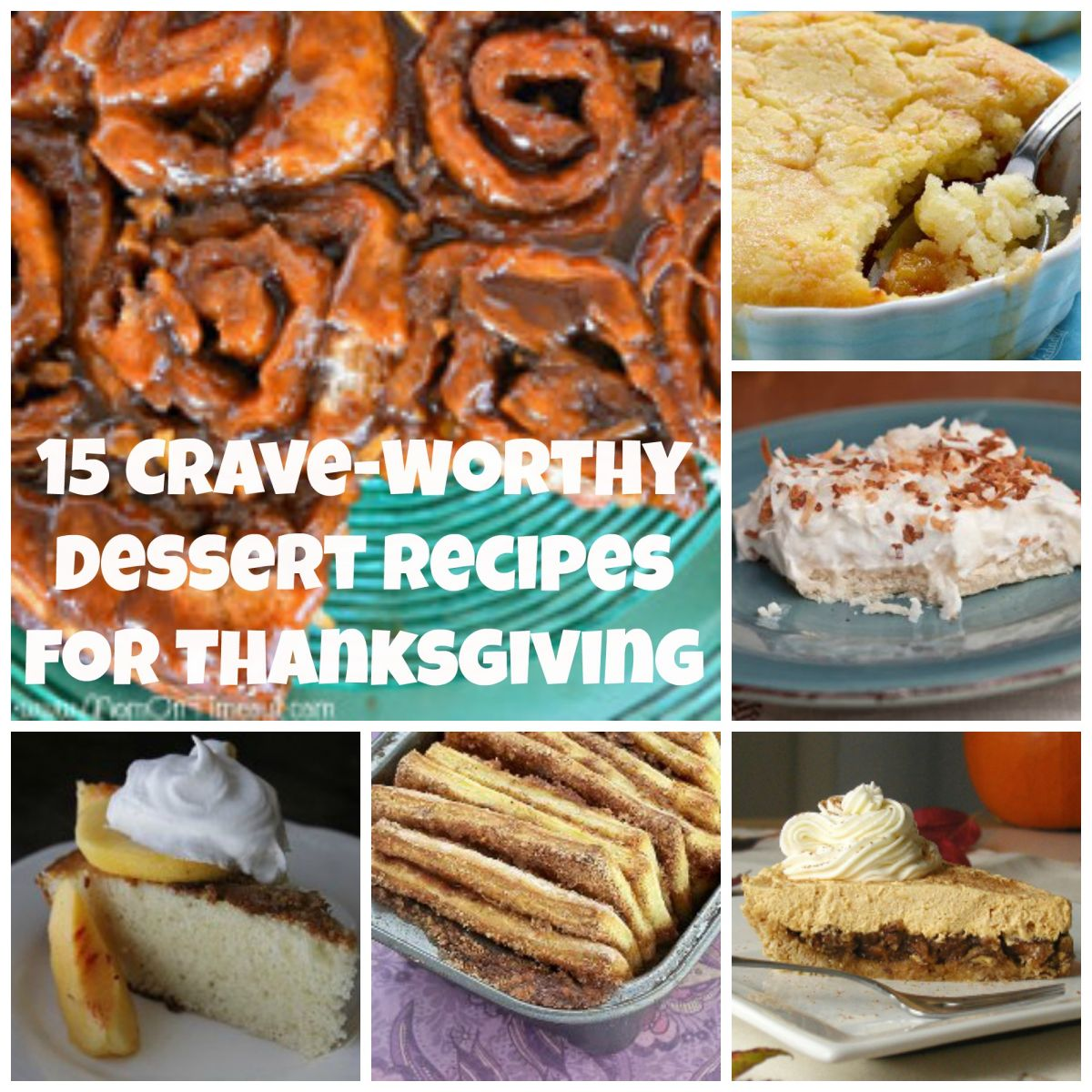 15 Crave-Worthy Dessert Recipes for Thanksgiving