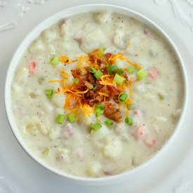 5-Star Creamy Ham and Potato Soup