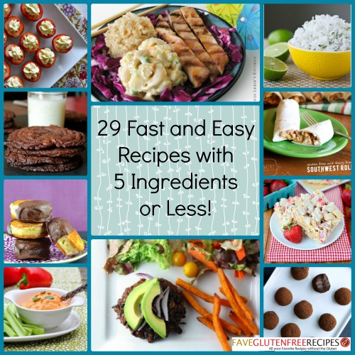 29 fast and easy recipes with 5 ingredients or less fast and easy recipes with 5 ingredients or less forumfinder Image collections
