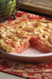 apple blush pie - Christmas Pies