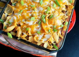 Awesome Oven-Baked Frito Pie