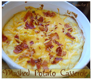 Best Ever Mashed Potato Casserole