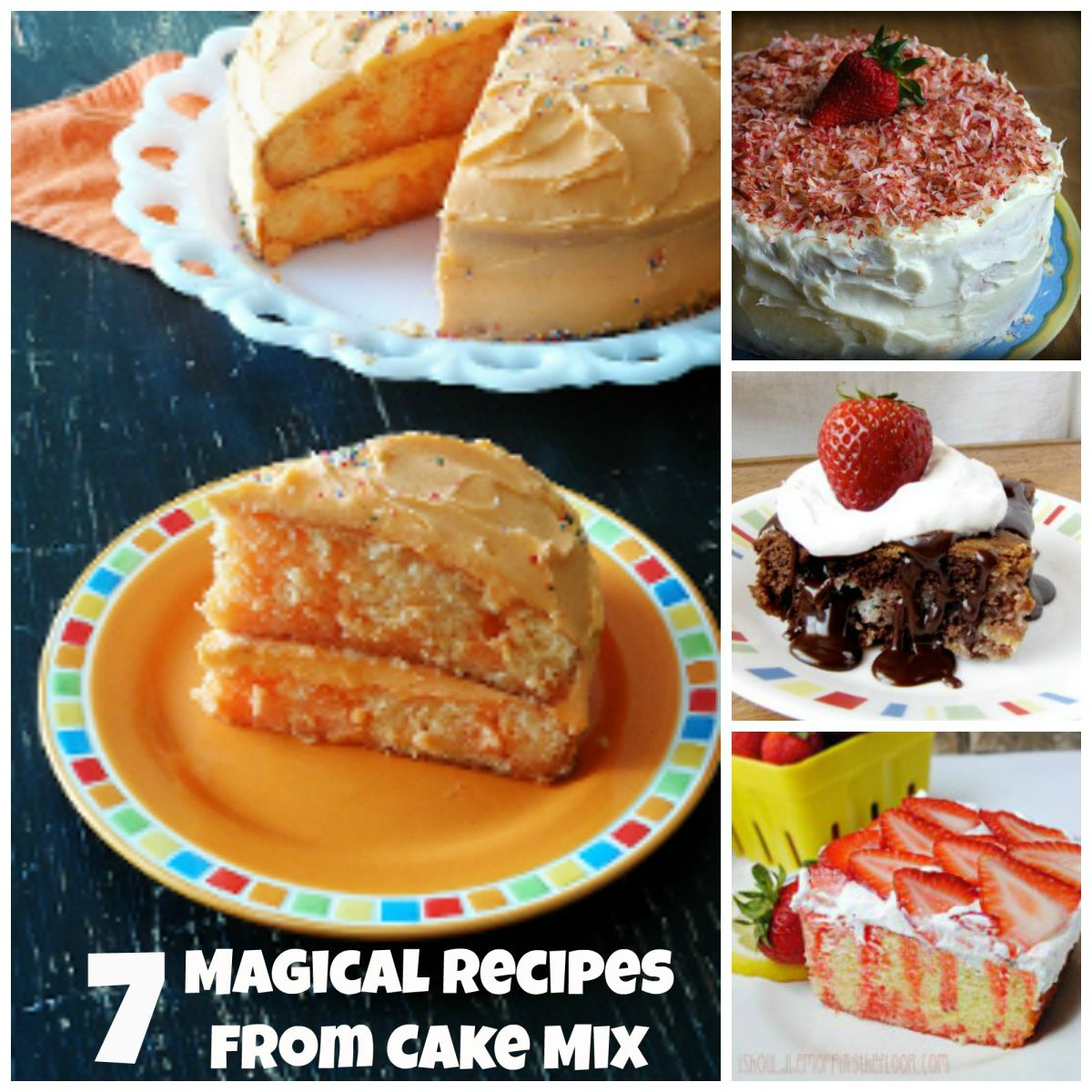 Magical Recipes from Cake Mix