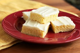 Cornbread Sugar Cookie Squares