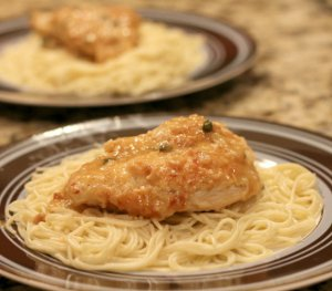 Best Crispy Lemon Chicken Piccata
