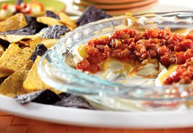 Easy Cheesy Layered Dip