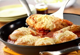 Easy Skillet Chicken Parm