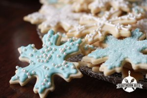 Festive Iced Sugar Cookies