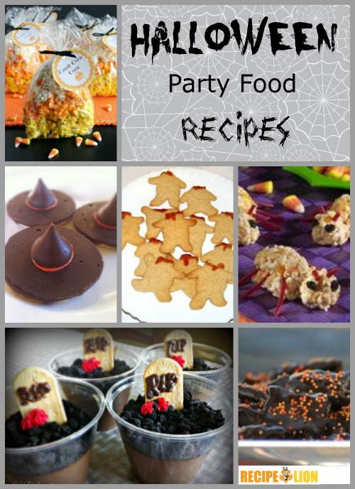 31 halloween party food recipes