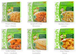 Kidfresh Frozen Meals Giveaway