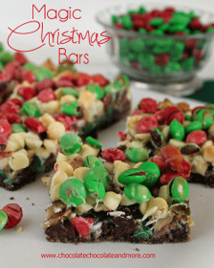 magic christmas bars lemon crinkle cookies - Christmas Bar Cookies