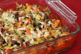 Mom's Tuesday Taco Casserole