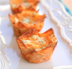 "Buffalo Chicken ""Cupcakes"""