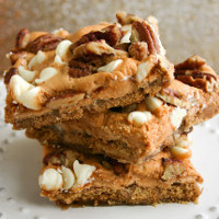 Pumpkin Spice S'mores Cracker Candy