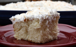 Shortcut Coconut Cream Cake