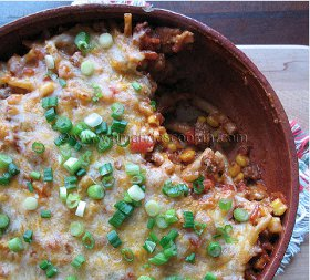 Simple Southwest Ground Beef Casserole