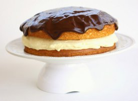 Special Easy Boston Cream Pie