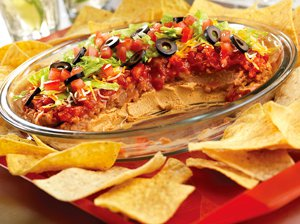 Super Easy Layered Dip
