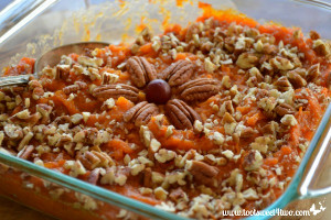 Sweetest Sweet Potato Casserole