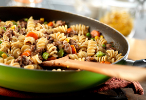 Skillet Beef and Vegetables