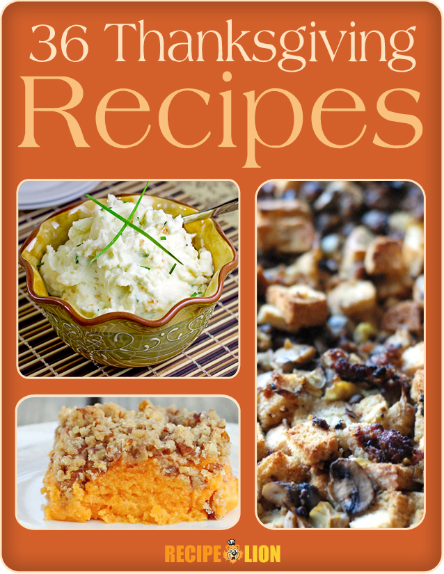 36 Thanksgiving Recipes