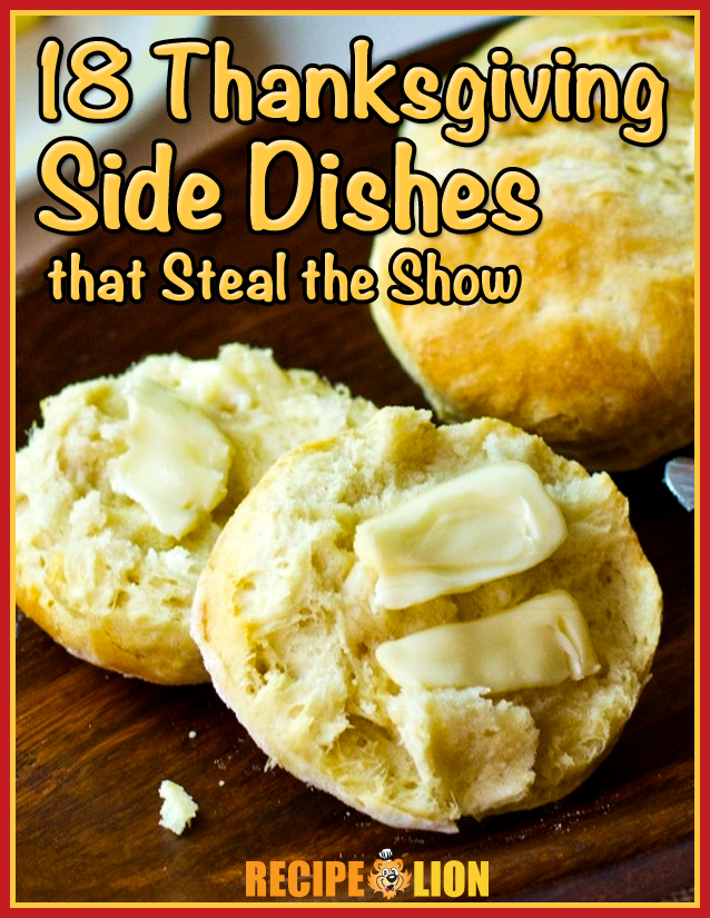 18 Thanksgiving Side Dishes that Steal the Show Free eCookbook