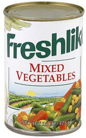 Freshlike Vegetables Giveaway
