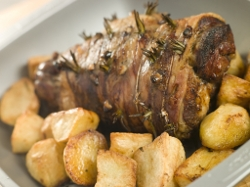Easter Lamb with Garlic and Herbs