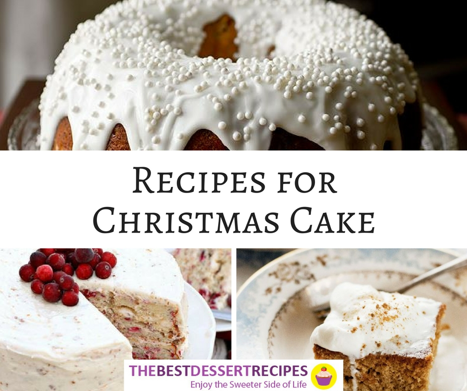 Recipes for Christmas Cake