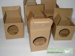 Recycled Cardboard Gift Boxes