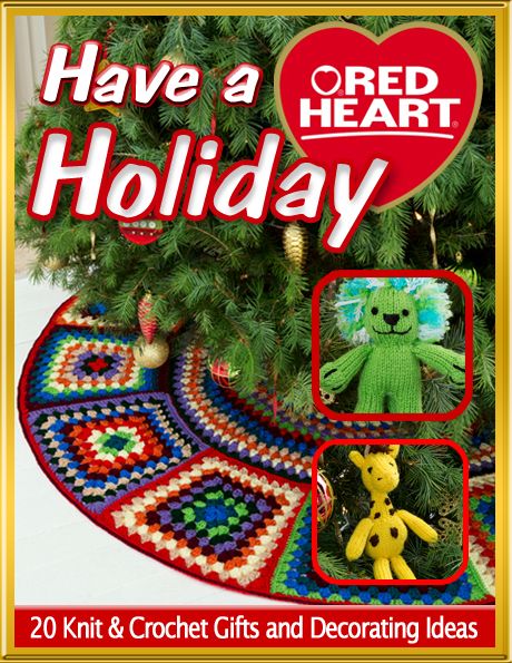 Have A Red Heart Holiday 20 Knit Crochet Gifts And Decorating